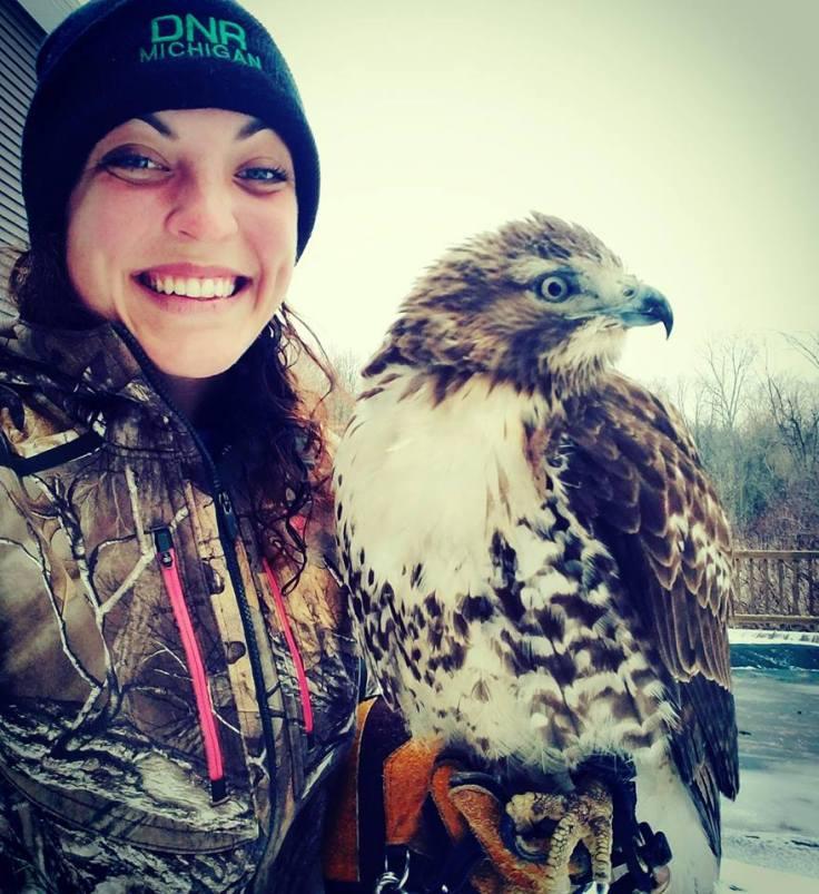 Sarah and Falcon