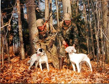 turkey trot acres lodge photo featuring dogs Shot and Kelly